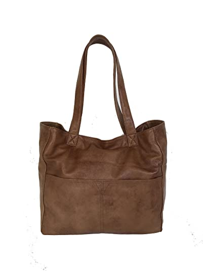 215b096dfc92 Amazon.com  Fgalaze Distressed Leather Tote Bag