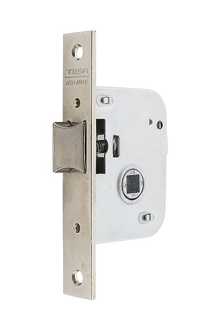 Tesa Assa Abloy, 200550HN Cerradura de embutir para puertas de madera, Entrada 50mm,