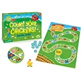 Peaceable Kingdom Count Your Chickens Cooperative Board Game