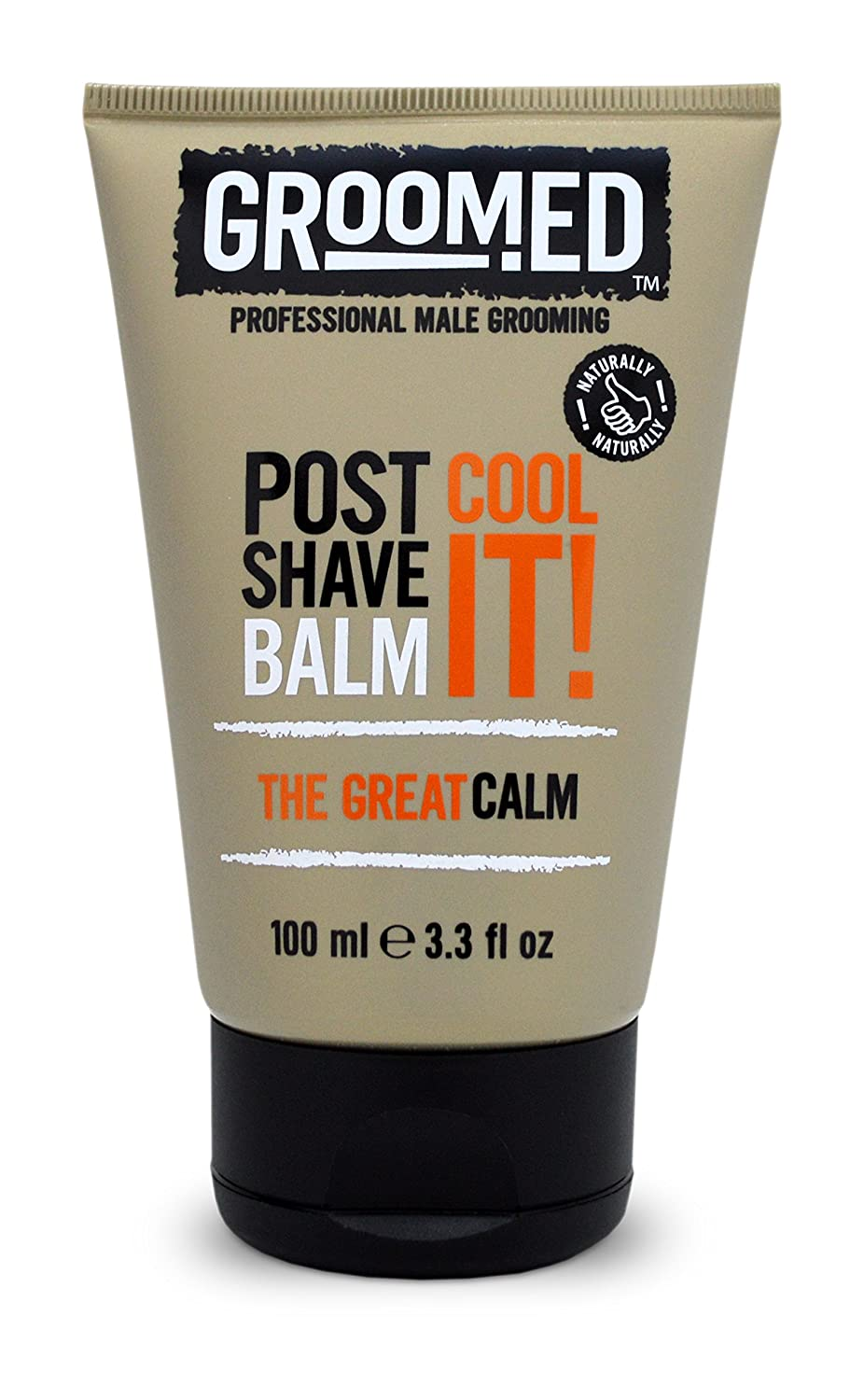 Groomed Post Shave Balm Cool It! The Great Calm 100 Ml 3.3 Fl Oz Professional Male Grooming Potter & Moore