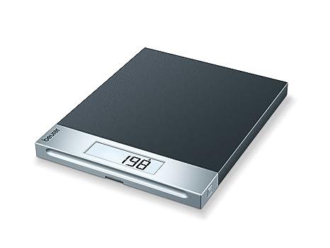 Beurer KS69 - Báscula electrónica de cocina, acabado pizarra, medición 20 kg /1