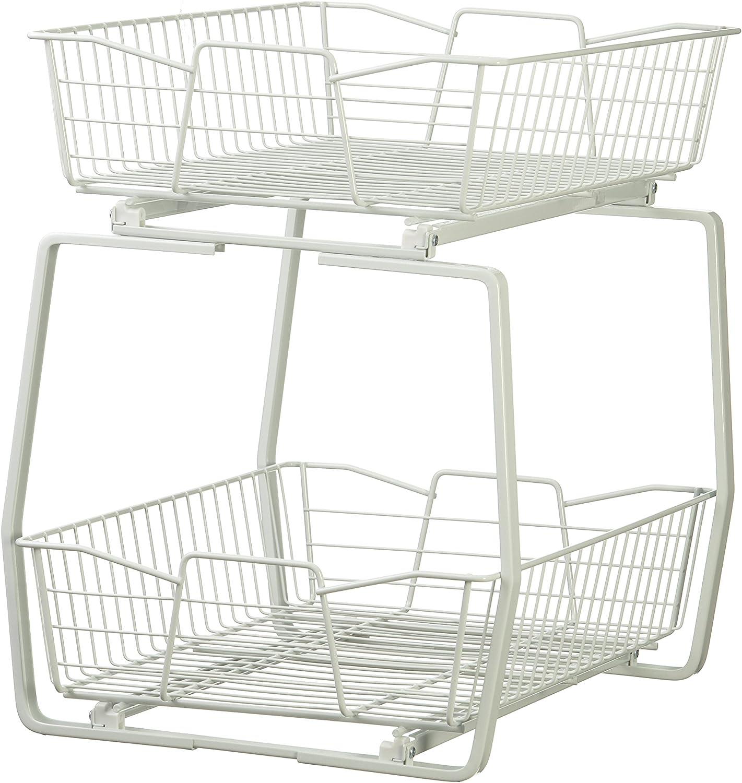 ClosetMaid 3609 14-Inch Wide Two-Tier Cabinet Organizer