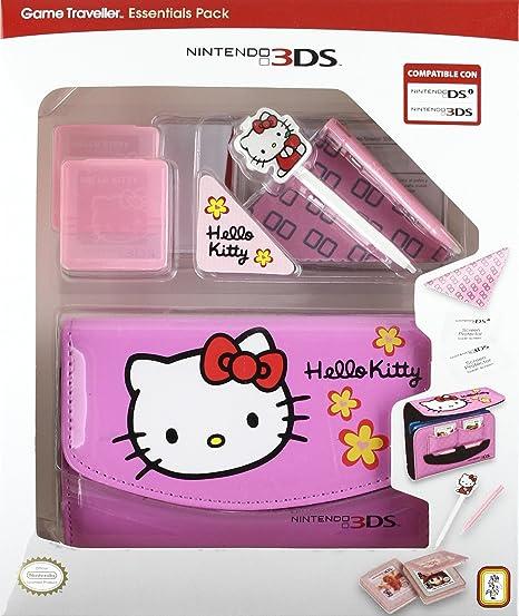 Nintendo 3DS - Pack Bolsa Traveller Essential Hello Kitty: Amazon ...