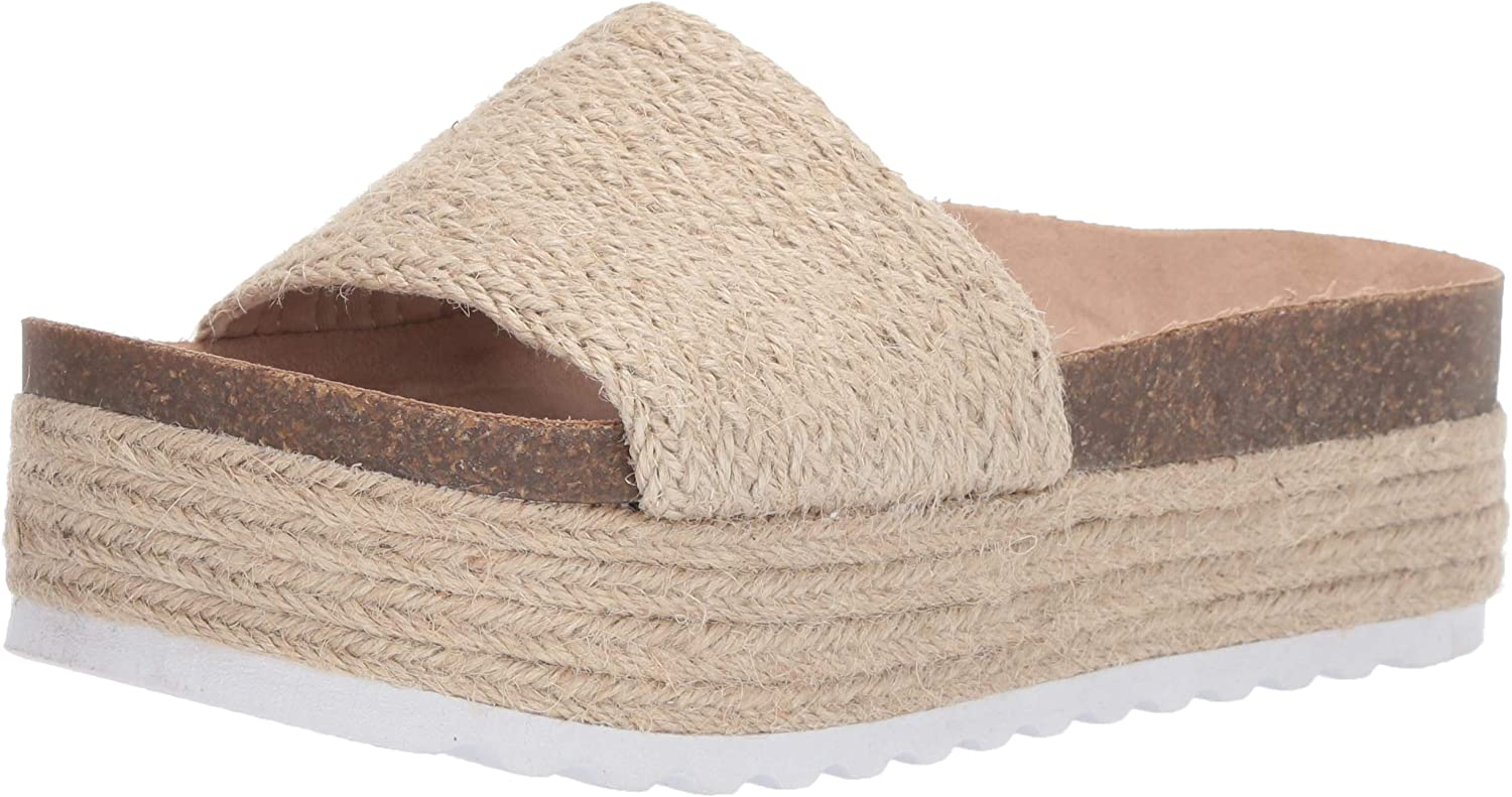Dirty Laundry Women's Palm Espadrille Wedge Sandal