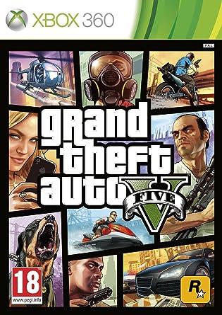 Grand Theft Auto V Gta V Microsoft Xbox 360 Amazon Es Videojuegos