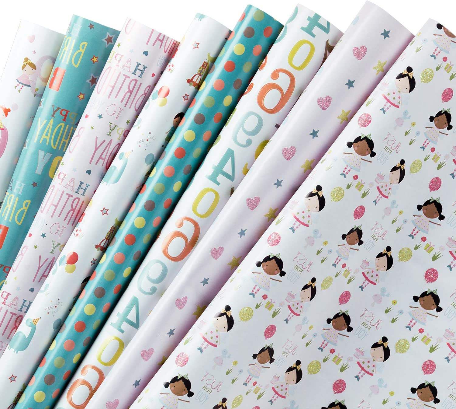 """84/""""x30/"""" 1-Solid Color~Gift Wrap Roll~17½-sq.ft. Rolls~Buy-3-Rolls-4th-1-FREE"""