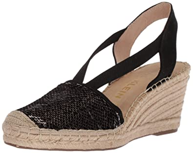 4b8f936f907c Anne Klein Women s Abbey Espadrille Wedge Sandal