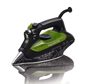 Rowenta DW6080 Eco-Intelligence 1700-Watt Energy Saving Steam Iron Stainless Steel Soleplate
