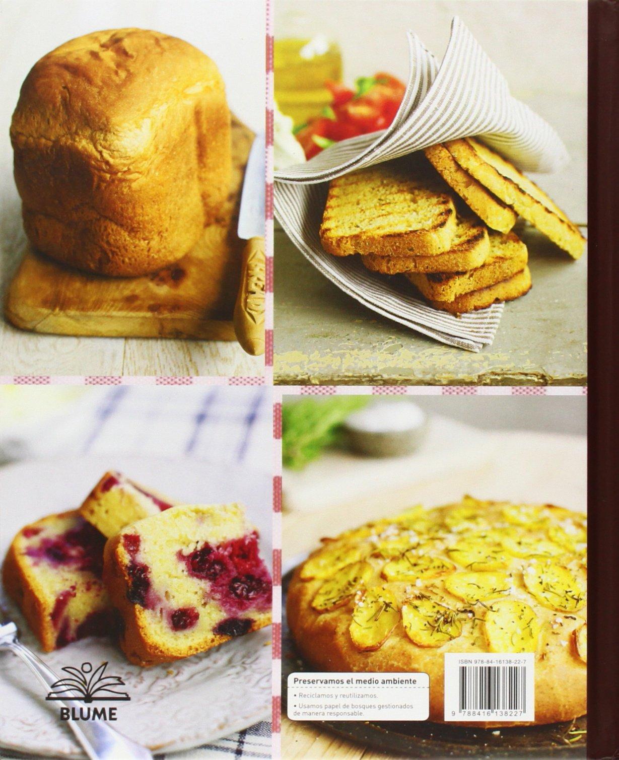 Amazon.com: 80 recetas de pan para elaborar con panificadora ...