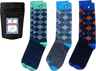 product image for Premium Quality Pack Colorful Fun Patterned Womens Socks, Made in America (3-Pack, Multi-Colored)