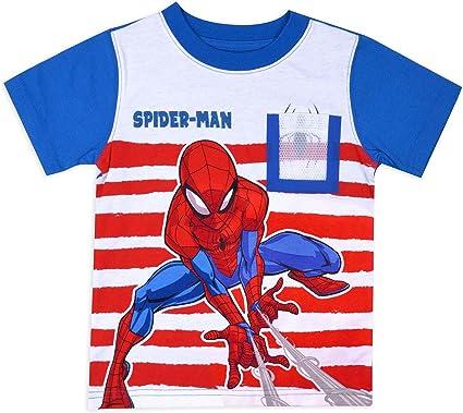 Toddler Baby Boy Girl Spiderman Short Sleeve Top 3D Digital Print T Shirt Blouse