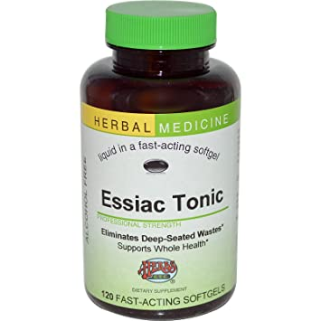 Essiac Tonic - Whole Body Detoxification Eliminates Cellular Wastes - Liver  and Blood Cleanser - No