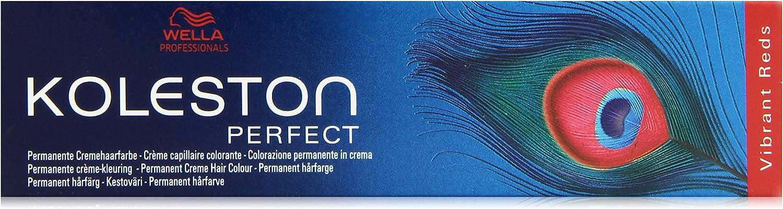 Wella Professionals Koleston - Tinte para cabello (60 ml), 6/45 Dark Blonde Red Mahogany