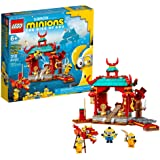 LEGO Minions: Minions Kung Fu Battle (75550) Toy Temple Building Kit for Kids, a Great Present for Kids Who Love Minions Toys