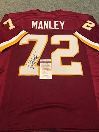 huge discount e7ad5 fc043 Dexter Manley Autographed Signed Washington Redskins Jersey ...