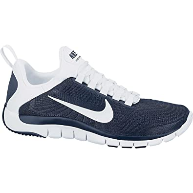 nike free trainer 5.0 tb mens training shoes - navy/white