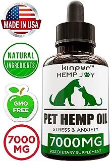 Amazon com : Pet Pawsitive - Hemp Oil Dogs Cats - 2000mg