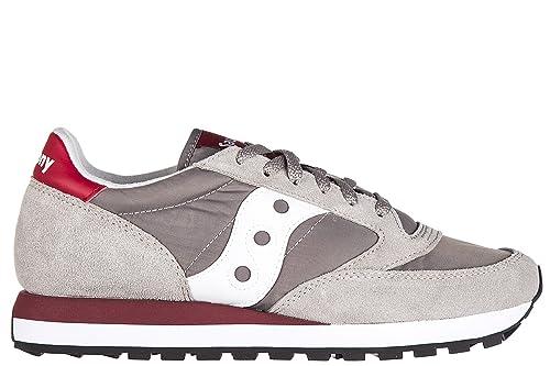 Saucony Zapatos Zapatillas de Deporte Hombres Jazz Original Gris EU 44 S2044 398: Amazon.es: Zapatos y complementos