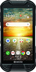 Kyocera DuraForce Pro 2 with Dragontrail PRO Display E6921 Black - Unlocked | Rugged 4G Android Smart Phone