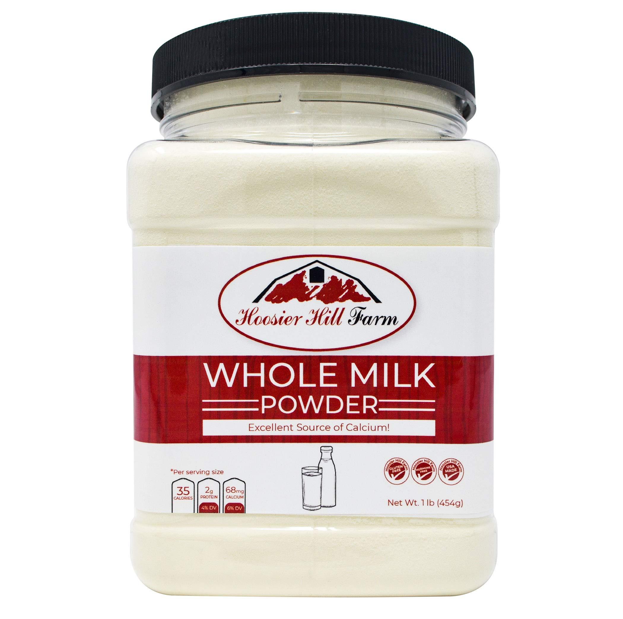 Hoosier Hill Farm All American Whole Milk Powder, 25lb Bulk Hormone Free, No Additives by Hoosier Hill Farm (Image #2)
