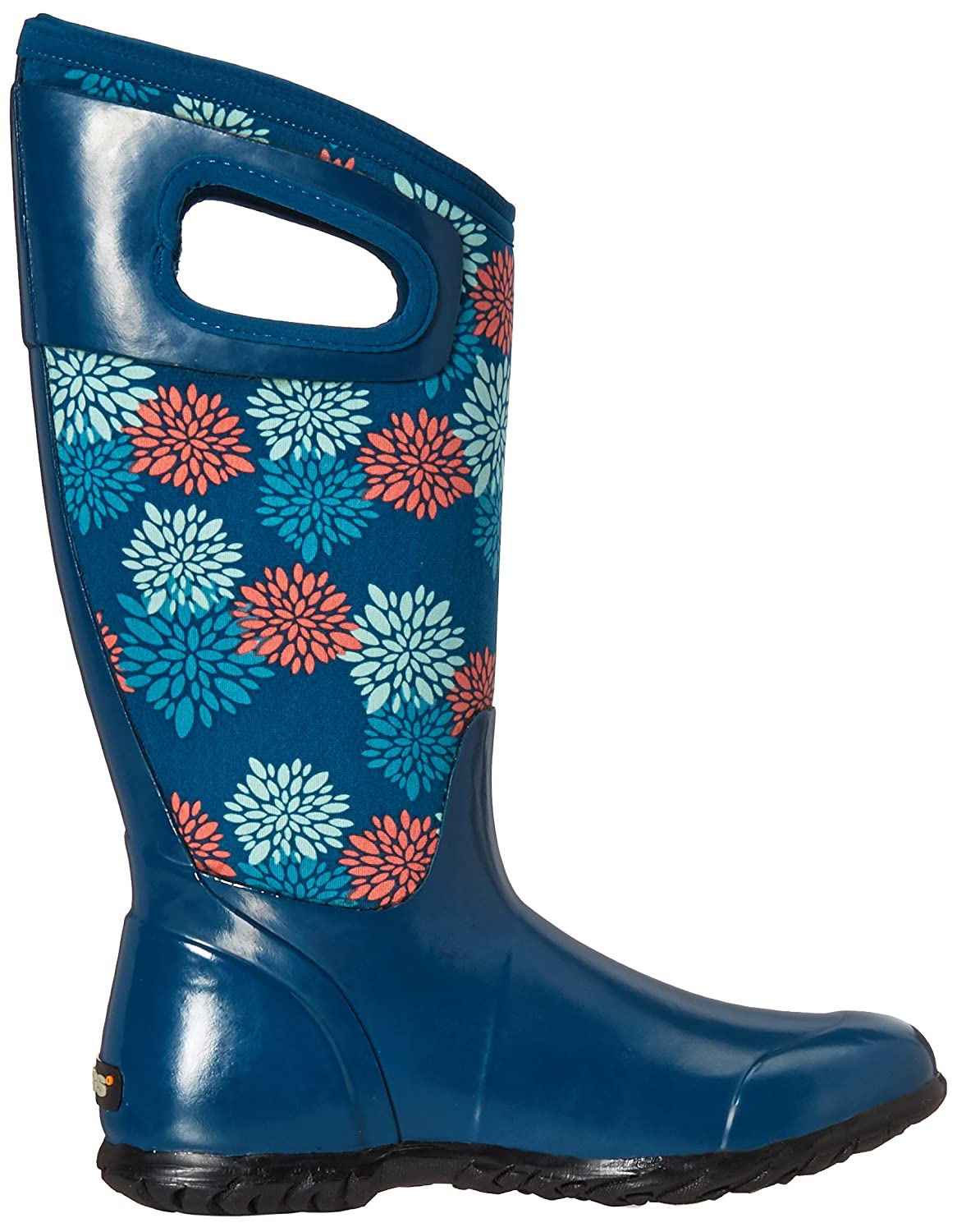 Bogs Ladies North Hampton Pompons Blau Insulated WARM WARM Insulated Wellington Boot 72040-UK 6 (EU 39) - 6155ab