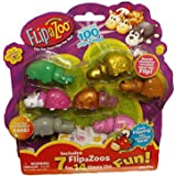 NEW! FlipaZoo SERIES 1 - Mini Collectible Figures 7 Pack - Includes 7 FlipaZoo for 14 Times the Fun - STYLE 5