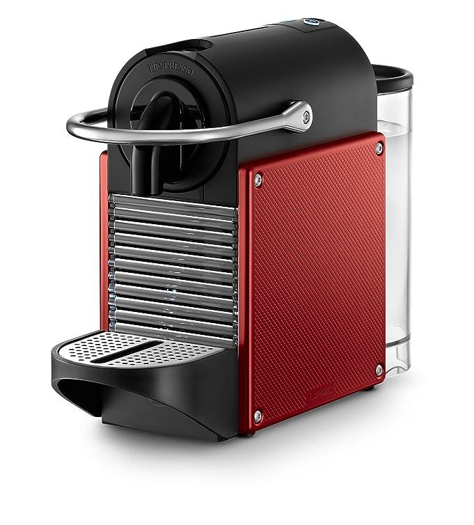 Amazon.com: Nespresso D60 Pixie Dark Red Espresso Machine With ...