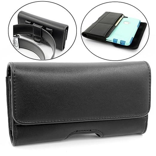 3 opinioni per iphone 7 Plus Custodia Case,Mopaclle Cover Clip per Cintura con ID Slot e