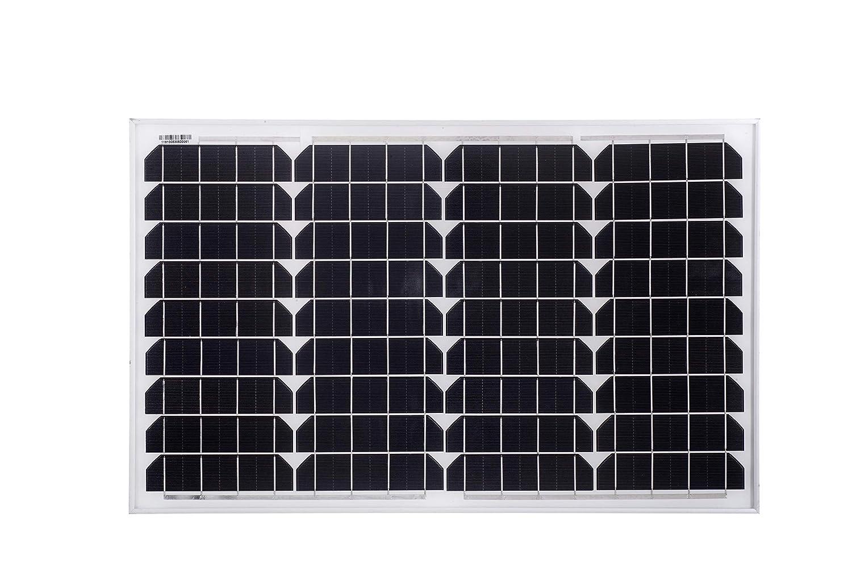 Betop-camp Pannello Solare Monocristallino da 40W 12V con linea MC4 90cm per Camper,Barca Caricabatterie Solare da 20A
