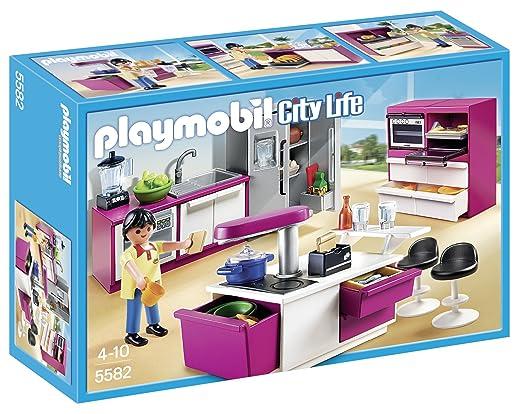 7 opinioni per Playmobil 5582- Cucina con Isola Attrezzata