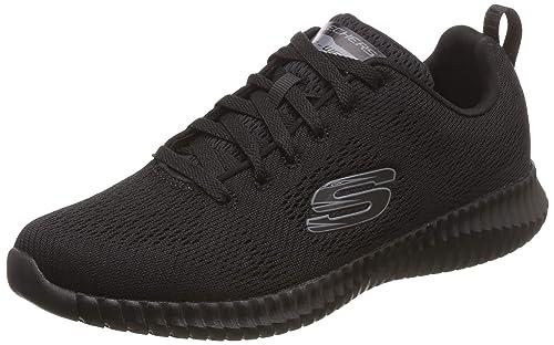 Elite Flex Black Sneakers
