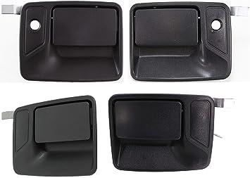New Set of 4 Door Handles Front /& Rear Driver Passenger Side F450 Truck Black