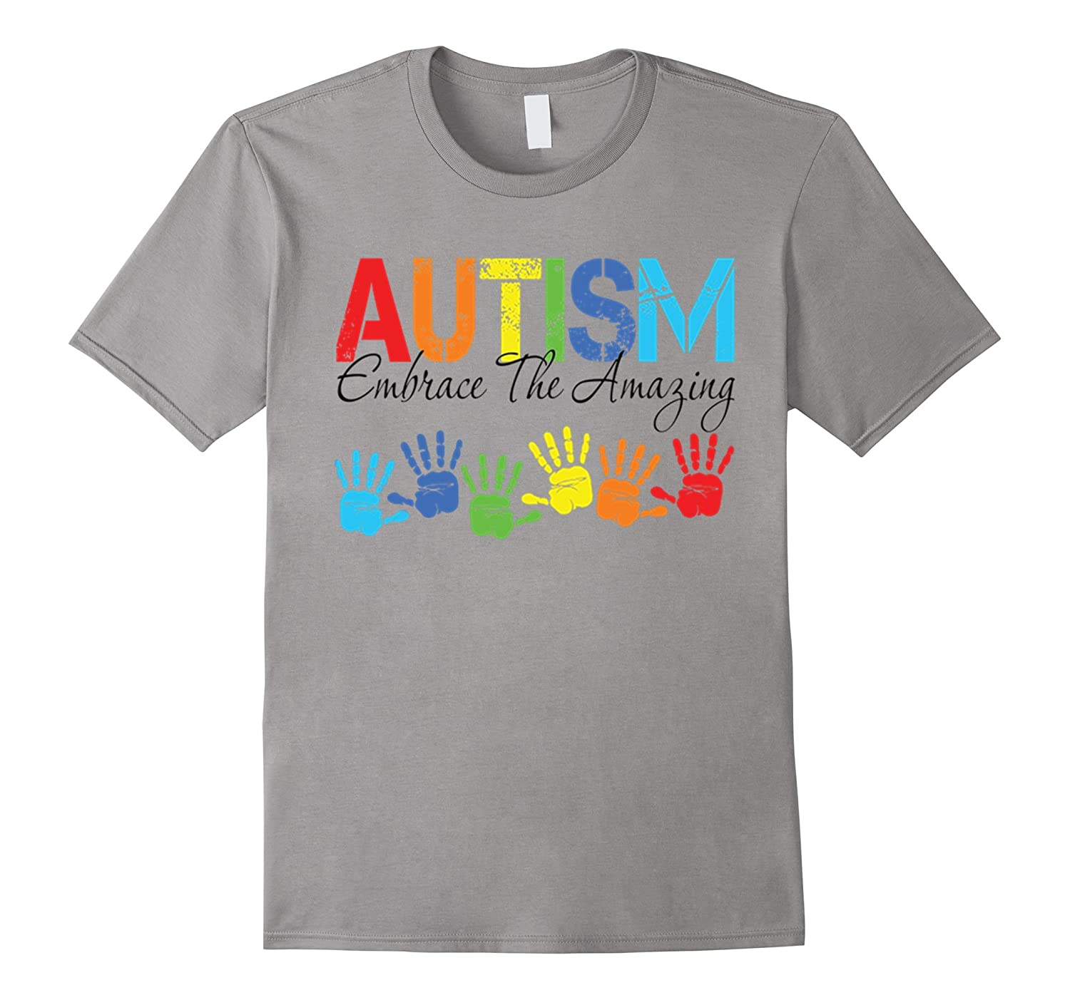 e1c07193 Autism Embrace The Amazing T-Shirt Autism Awareness Gifts-TD ...