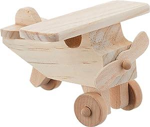 Darice 9163-46 Wood Airplane Craft