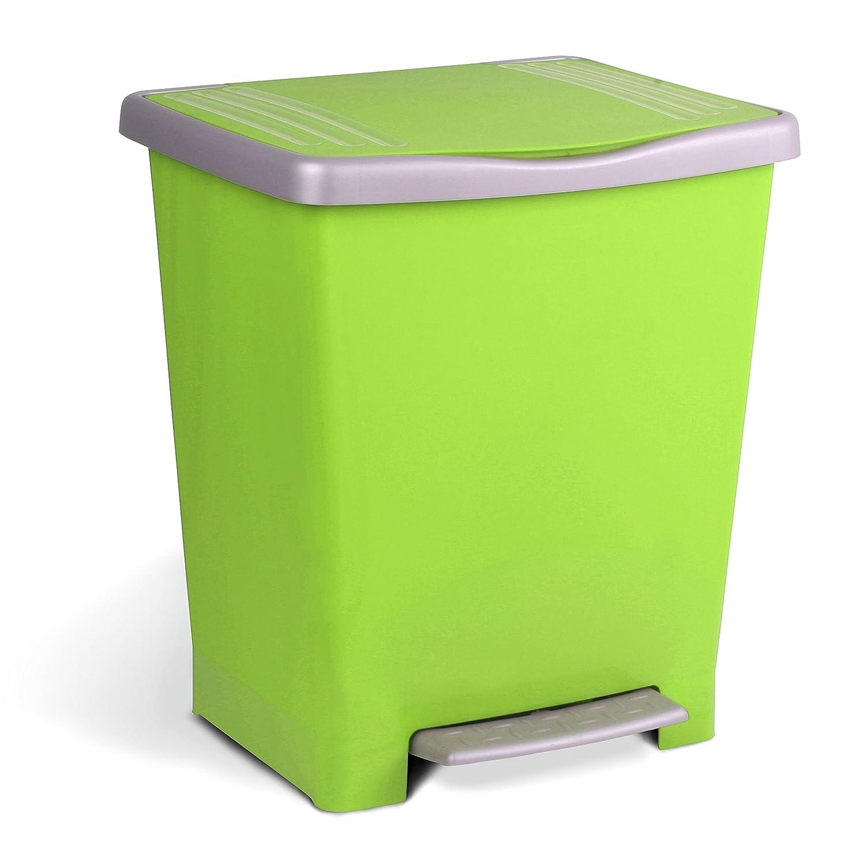 Cubo Basura Cocina | Tatay Millenium Cubo Con Pedal 23 Litros De Capacidad Color