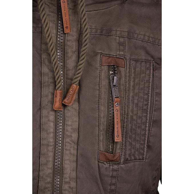 das Neueste 919b1 0f316 naketano herren mantel last don mede
