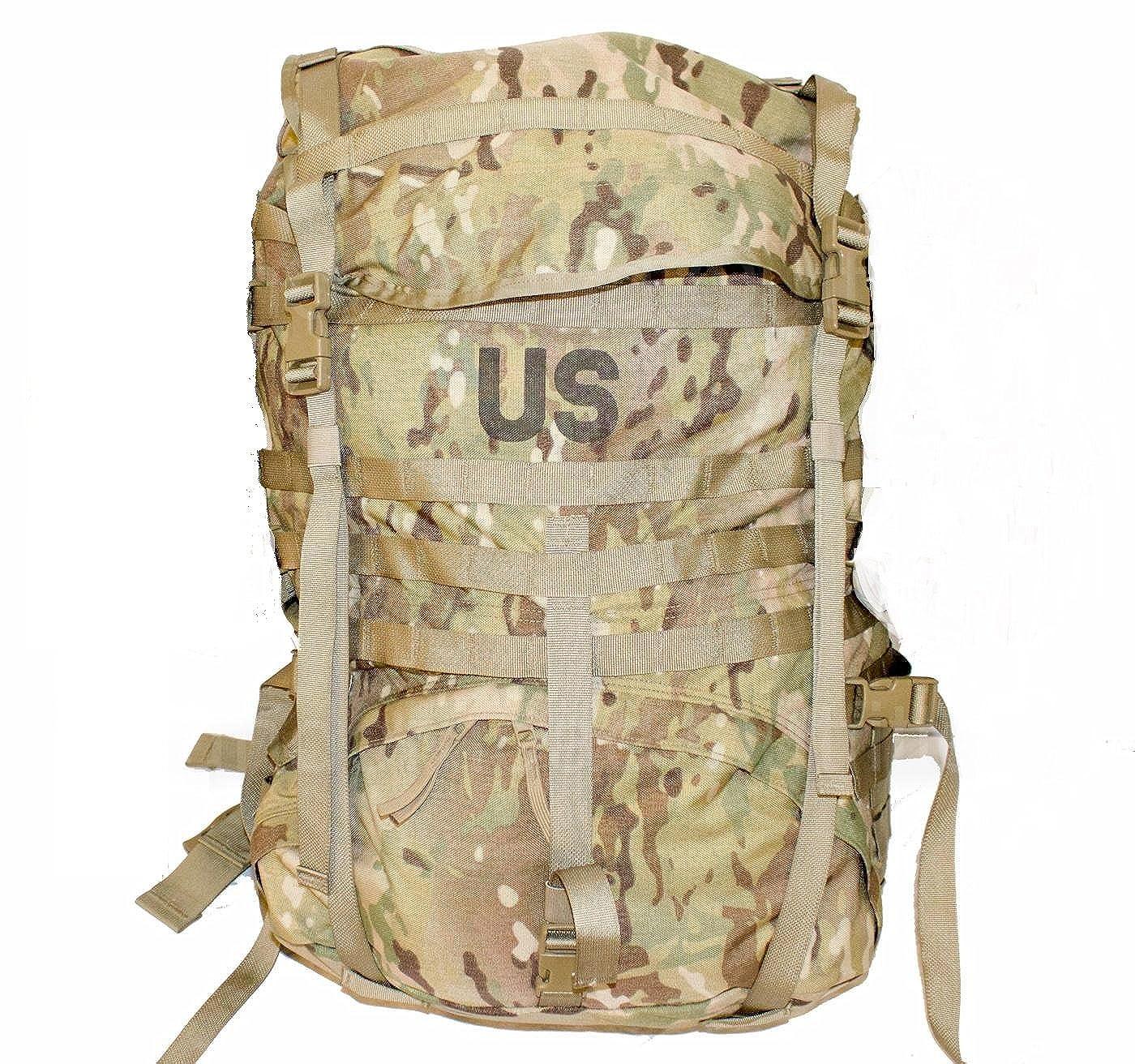 Amazon.com: MOLLE MultiCam (OCP) Large Rucksack, NSN 8465-01-580-1556 /  8465015801556 (USGI Issue Backpack) (MultiCam (OCP) (No Sustainment  Pouches)): ...