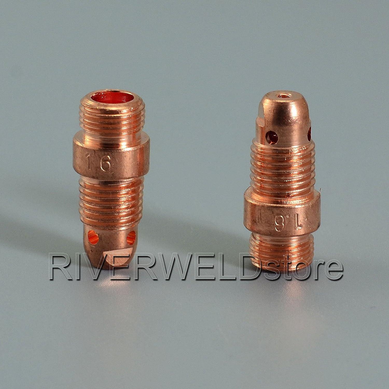 17CB20 1//16 1.6mm Stubby Collet Corpo torcia saldatura tig WP PTA SR 17 18 26 5PK