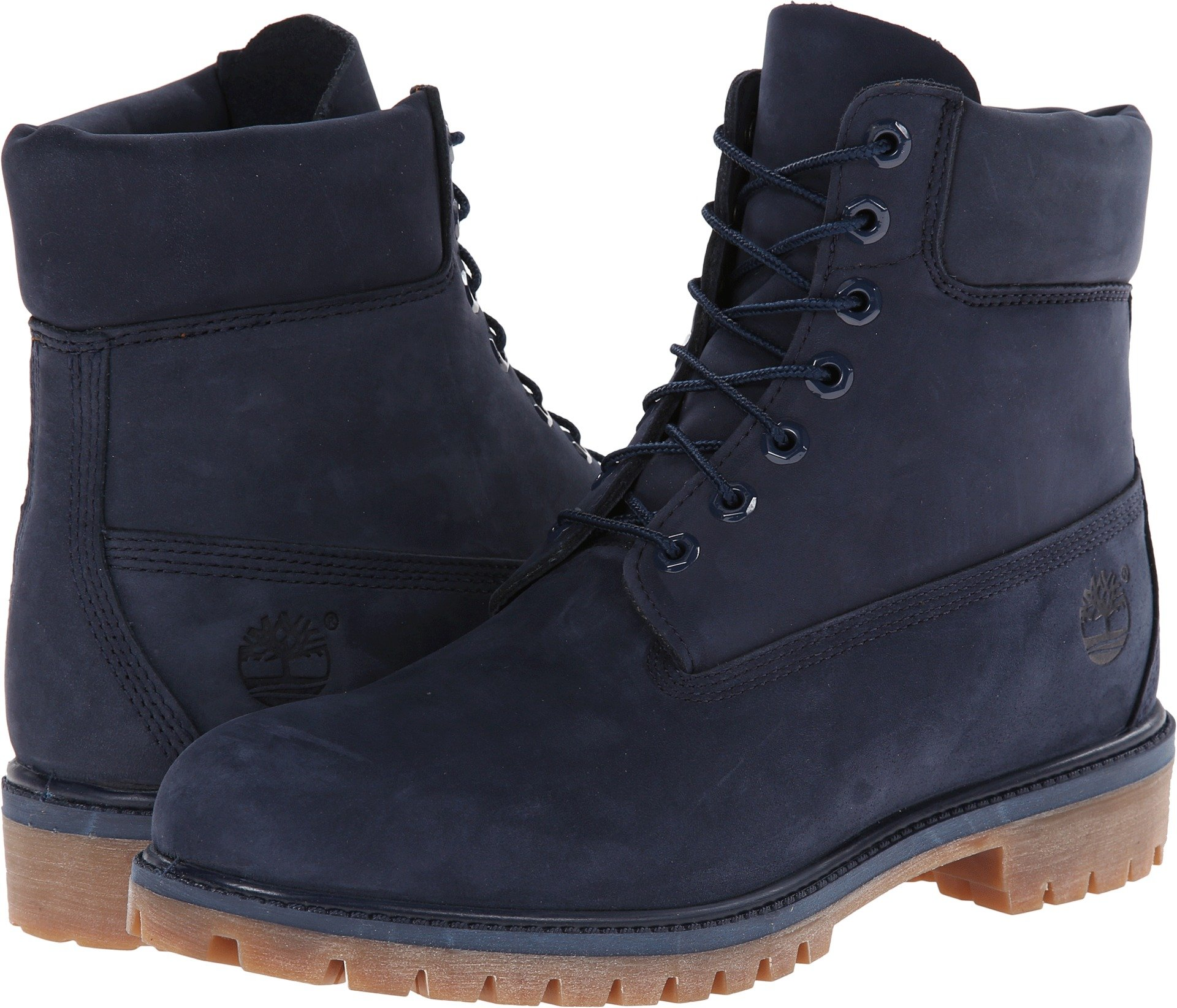 Timberland Men's 6'' Premium Boot Navy Monochrome 7 EE US