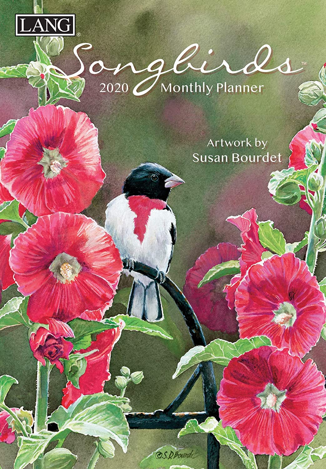 Lang Songbirds 2020 Monthly Planner (20991012120)