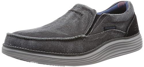 Skechers Status 2.0-Mosent, Mocasines para Hombre: Amazon.es: Zapatos y complementos