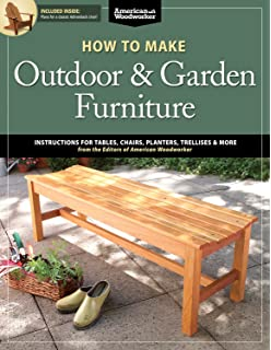 how to make outdoor garden furniture instructions for tables chairs planters