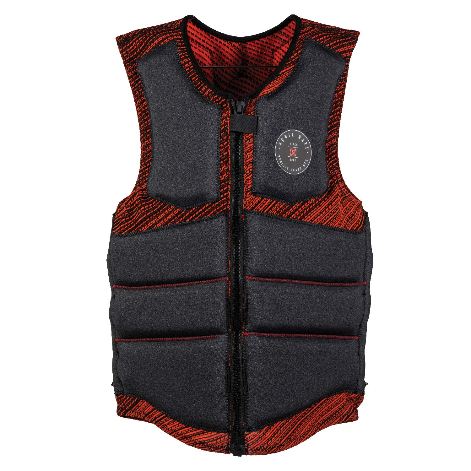 Ronix One Custom Fit - BOA - Impact Jacket - Grey Heather/Red - S (2019) by RONIX
