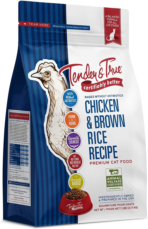 Tender & True Antibiotic-Free Chicken & Brown Rice