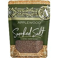 SaltWorks Yakima Applewood Smoked Sea Salt, Artisan Zip-Top Pouch, 3 Ounce