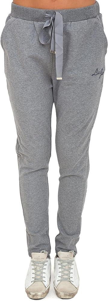Liu Jo Sport - Pantalón Deportivo - para Mujer Gris XL: Amazon.es ...