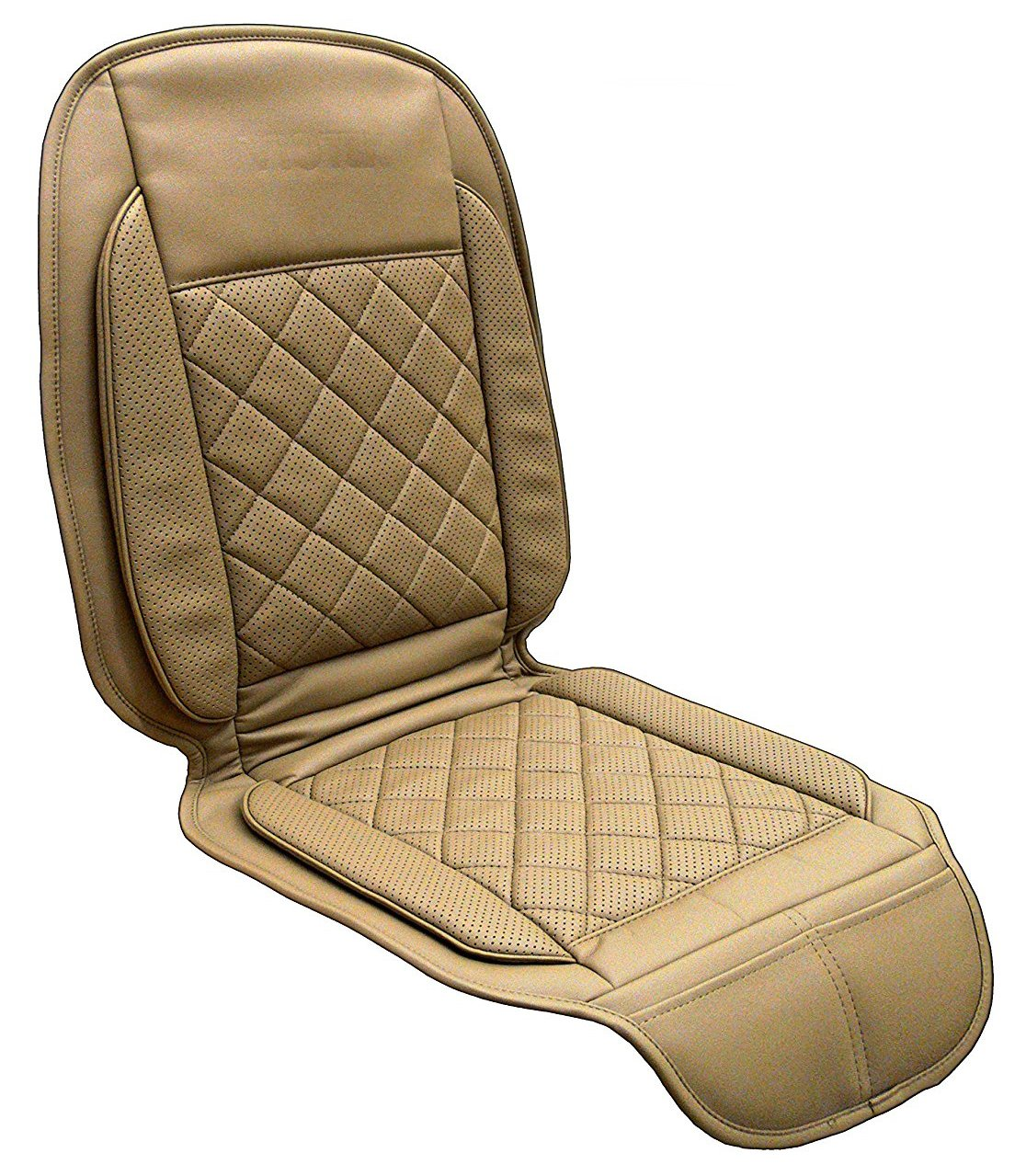 Viotek Temperature Controlled V2 Heating & Cooling Car Seat Cover – with 10 Temperature Zones and Wireless Remote 2000P2
