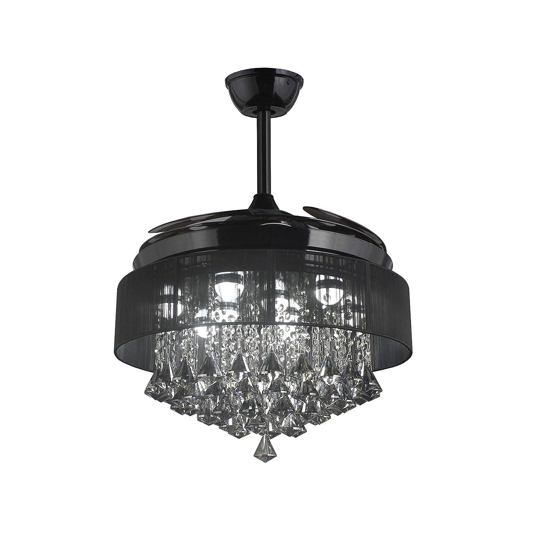 Amazon.com: Lámpara de techo de 42 pulgadas, color negro ...