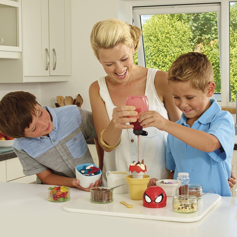Amazon Spider Man Freezeez Ice Cream Maker Toys & Games