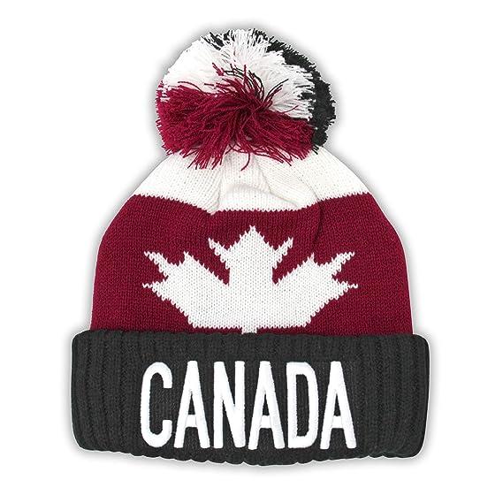 Canada Sport Warm Winter Hat Beanie True North Travel Tuque (Kids)   Amazon.ca  Clothing   Accessories 18de499594f